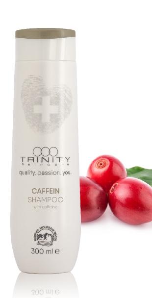 Trinity Hair Care Шампунь для Укрепления и Против Выпадения с Кофеином Therapies Caffein Shampoo, 300 мл trinity hair care шампунь для чувствительной кожи головы therapies sensitive shampoo 300 мл