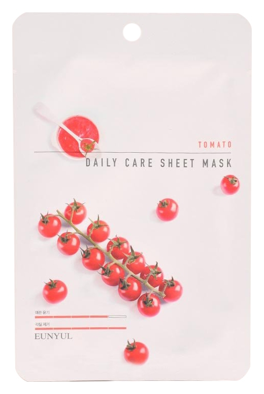 Eunyul Тканевая Маска для Лица с Экстрактом Томата Tomato Daily Care Sheet Mask, 22г