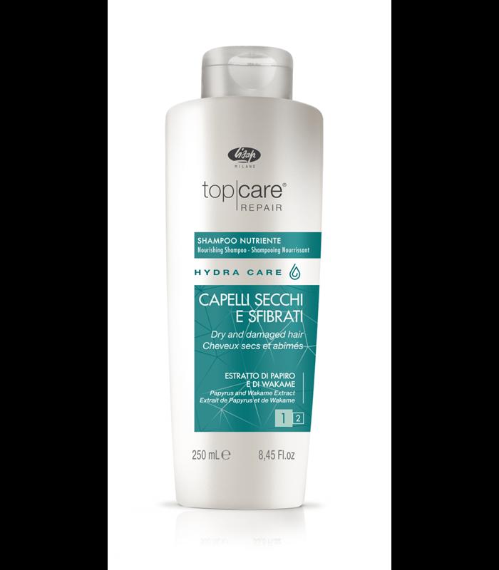 Lisap Интенсивный Питательный Шампунь Top Care Repair Hydra Care Nourishing Shampoo, 250 мл