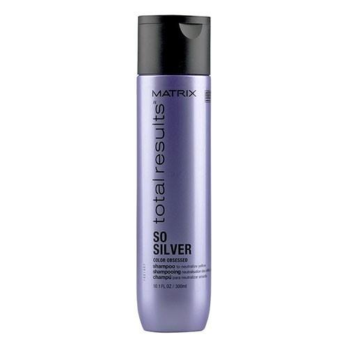 MATRIX Шампунь Total Results Color Obsessed So Silver Shampoo для Нейтрализации Желтизны у Блондинок Сильвер, 300 мл