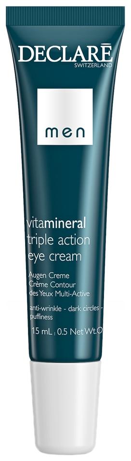 Declare Крем Вокруг Глаз Тройного Действия Triple Action Eye Cream, 15 мл недорого