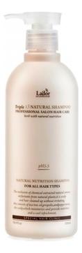 La'dor Шампунь Triplex Natural Shampoo с Натуральными Ингредиентами, 530 мл шампунь lador triplex natural shampoo отзывы