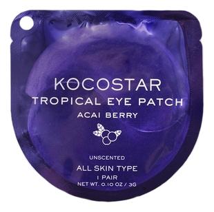Kocostar Патчи Tropical Eye Patch Acai Berry Jar Гидрогелевые для Глаз Тропические Фрукты Ягоды Асаи, 1 пара