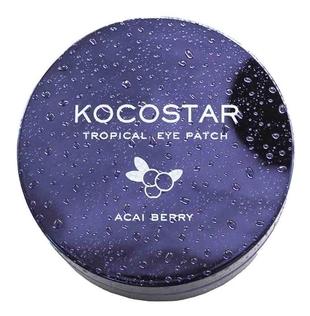 Kocostar Патчи Tropical Eye Patch Acai Berry Jar Гидрогелевые для Глаз Тропические Фрукты Ягоды Асаи, 60 патчей