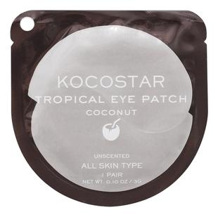 Kocostar Патчи Tropicla Eye Patch Coconut Single Гидрогелевые для Глаз Тропические Фрукты Кокос, 1 пара недорого