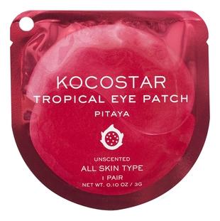 Kocostar Патчи Tropicla Eye Patch Pitaya Jar Гидрогелевые для Глаз Тропические Фрукты Питахайя, 1 пара недорого
