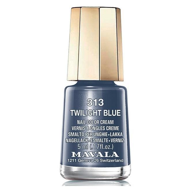 Mavala Лак Twiligt Blue 9091313 для Ногтей Синие Сумерки, 5 мл