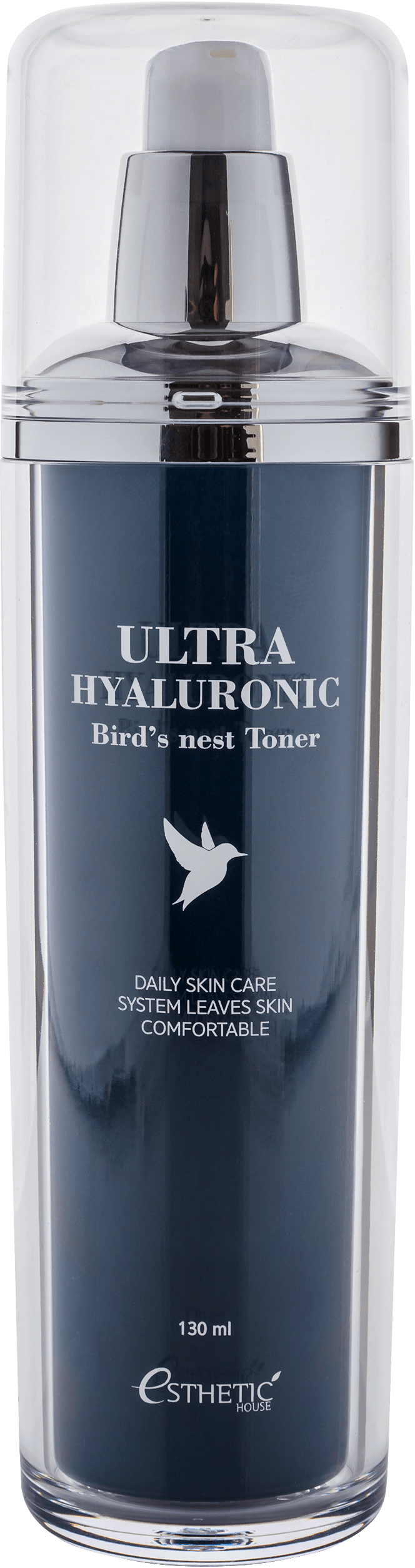 Esthetic House Тонер Ultra Hyaluronic acid Birds nest Toner для Лица Ласточка Гиалурон, 130 мл