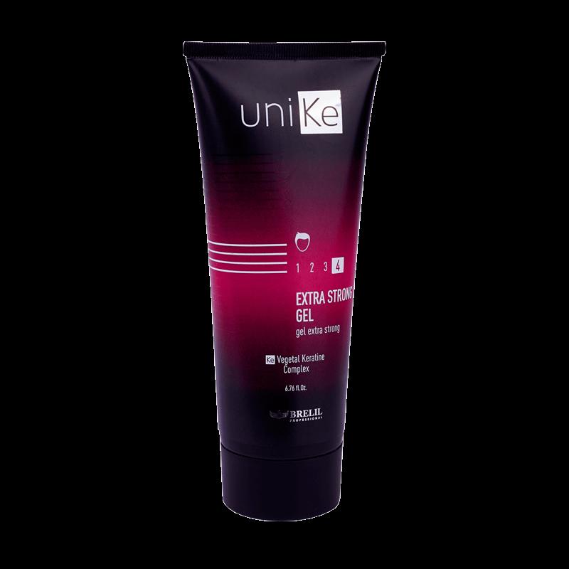 Brelil Professional Гель Unike Styling экстра сильной фиксации, 200 мл