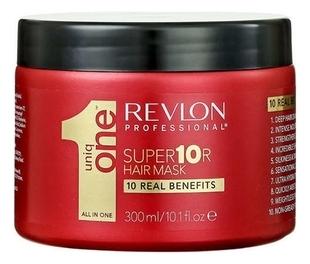 REVLON Маска Uniq One Супер для Волос, 300 мл revlon professional супер маска для волос 300 мл revlon professional uniqone