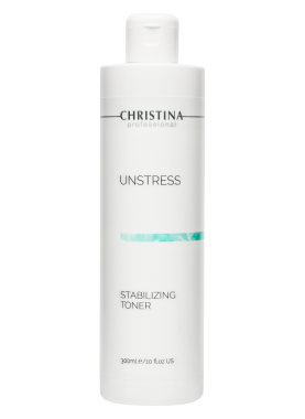 Christina Тоник Unstress Stabilizing Toner Стабилизирующий, 300 мл тоник the saem mineral homme black toner 130 мл