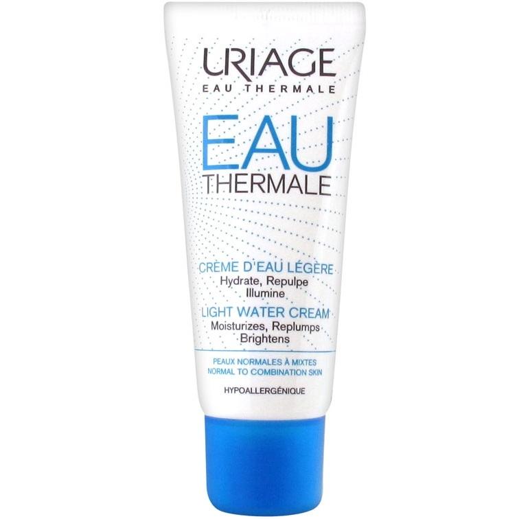 Uriage Крем Eau Thermale Увлажняющий Легкий Тюбик, 40 мл увлажняющий крем uriage aqua precis