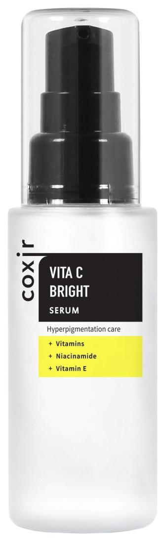 Coxir Сыворотка Выравнивающая Тон Кожи с Витамином С Vita C Bright Serum, 50 мл