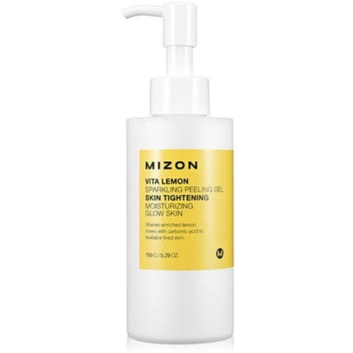 MIZON Гель Vita Lemon Sparkling Peeling Gel Витаминный с Экстрактом Лимона, 150 мл