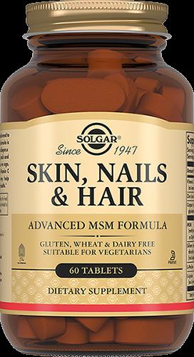 Solgar Комплекс Vitamin and Herb Hair Для Кожи, Волос и Ногтей Таблетки №60