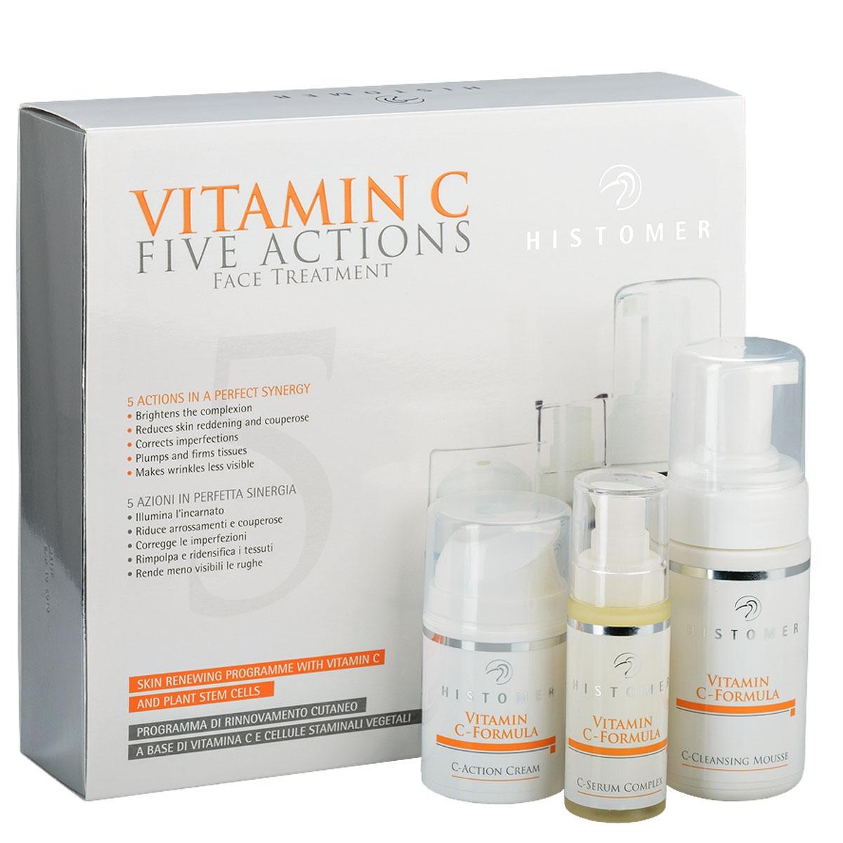 Histomer Набор Vitamin C Five Action с Витамином С, 100+50+30 мл