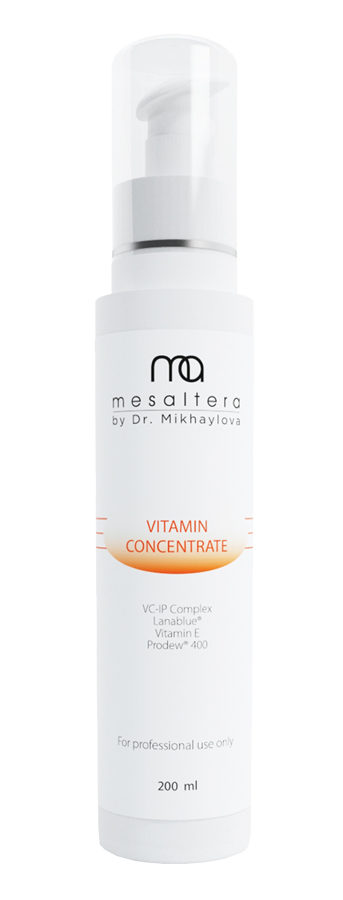 Mesaltera By Dr. Mikhaylova Концентрат Vitamin Concentrate, 200 мл 4 bottles lotanti wrinkle natural vitamin e softgel capsule vitamin e concentrate softgel free shipping