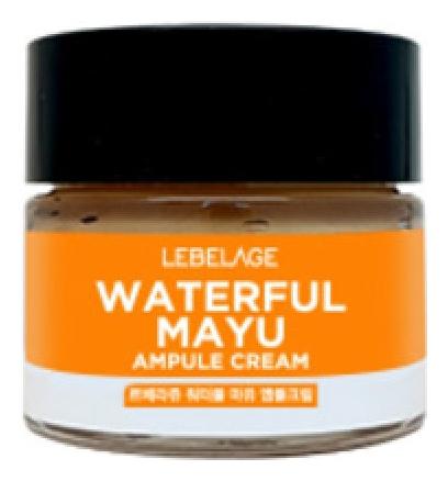 Lebelage Ампульный Крем Увлажняющий с Лошадиным Маслом Waterful Mayu Ampule Cream, 70 мл