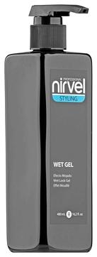Nirvel Professional Гель Wet Look Gel для Укладки Волос с Мокрым Эффектом Средней Фиксации, 480 мл nirvel rizos gel гель для вьющихся волос 250 мл