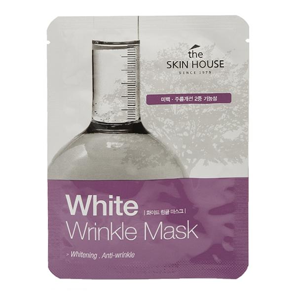 The Skin House Тканевая Маска от Морщин и Пигментации White Wrinkle Mask, 20 мл от пигментации
