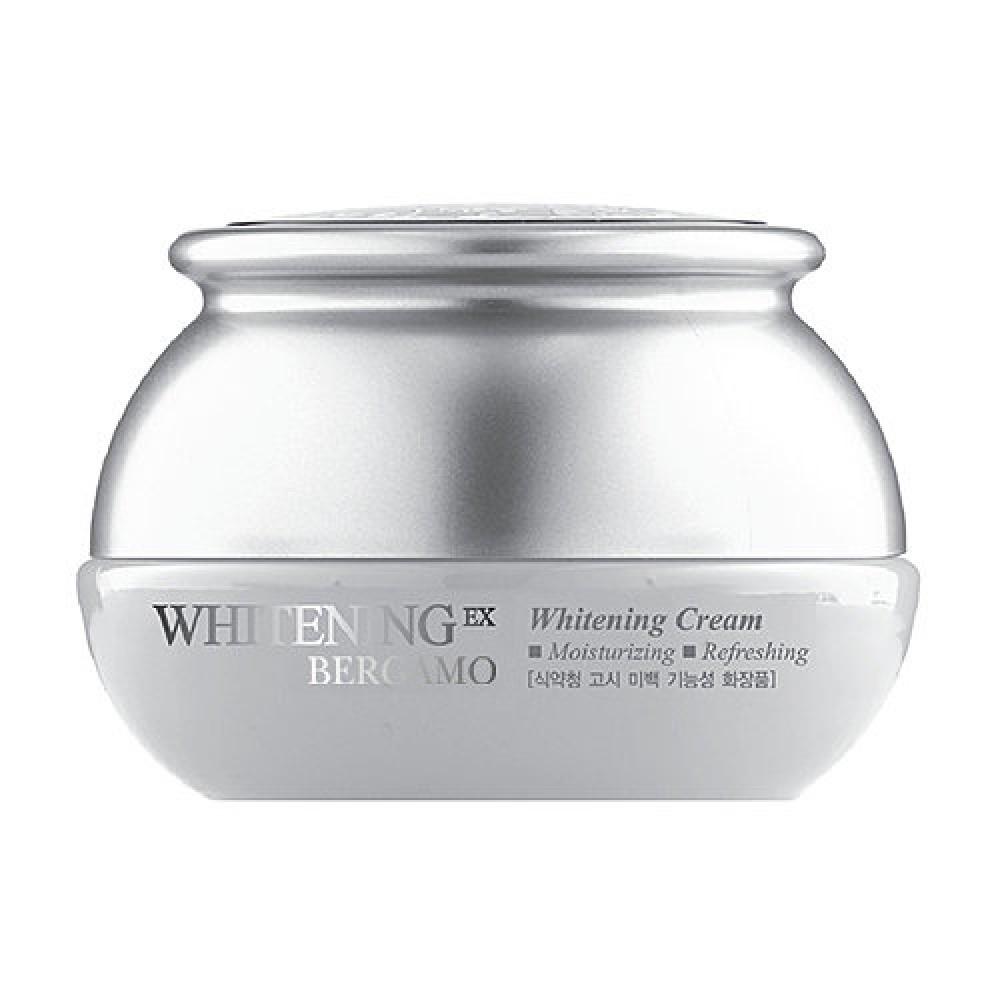 цена на Bergamo Крем Whitening EX Whitening Cream Отбеливающий, 50г