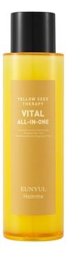 Eunyul Средство Yellow Seed Therapy Vital Homme All-In-One Многофункциональное Витаминизирующее для Ухода за Кожей для Мужчин, 150 мл крем для ухода за кожей naobay ecocert all in one