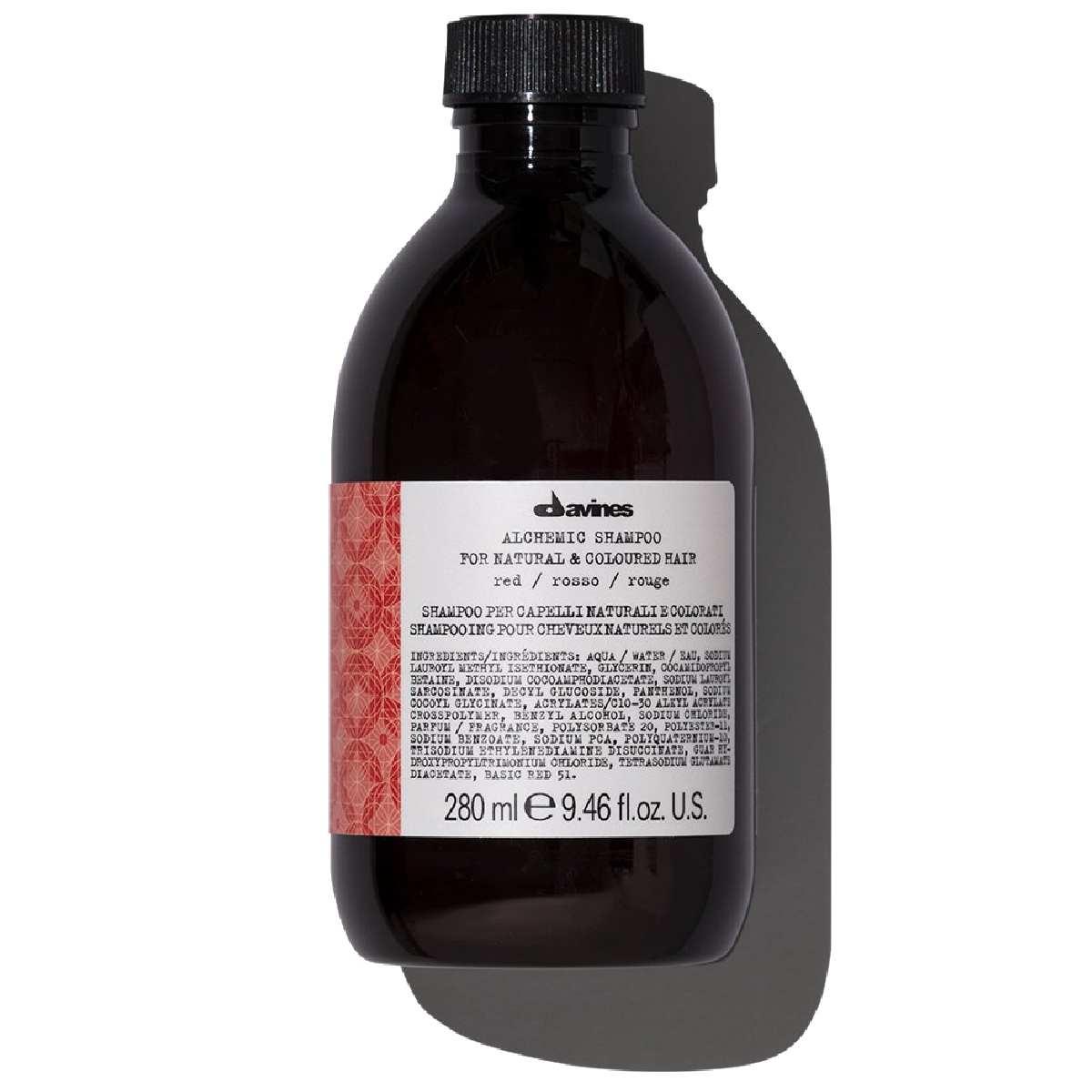 Davines Alchemic Шампунь (Красный), 280 мл davines alchemic шампунь золотой 280 мл