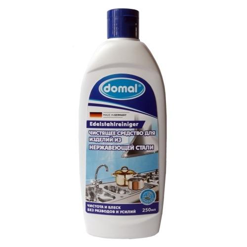 DOMAL Средство Жидкое Чистящее для Изделий из Нержавеющей Стали и Других Металлических Поверхностей, 250 мл недорого