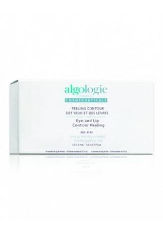 Algologie Пилинг для Контура Глаз Eye and Lip Contour Peeling, 10 шт Х 3 мл