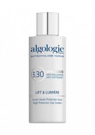 """Algologie Солнцезащитный Дневной Флюид SPF 30, 40мл algologie сс крем """"идеальная кожа"""" spf 20 30мл"""