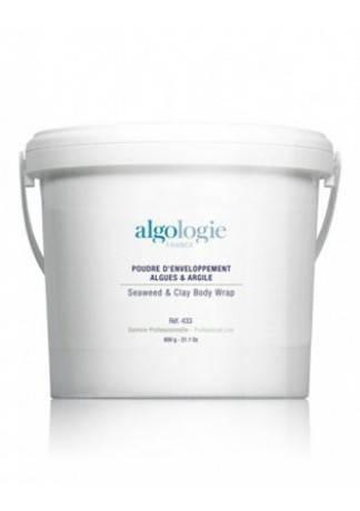 Algologie Пудра для Обертывания на Основе Морских Водорослей и Глины S Seaweed & Clay Body Wrap, 600г недорого