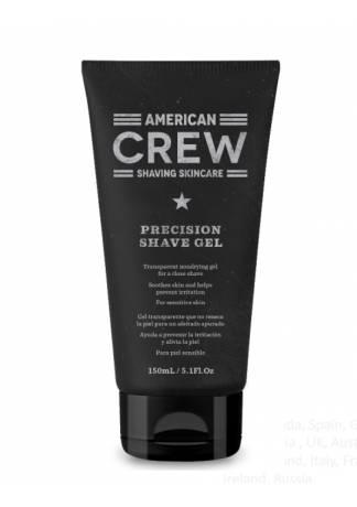 American Crew Гель для Бритья Precision Shave Gel, 150 мл цены