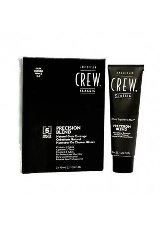 American Crew Краска для Седых Волос Precision Blend Темный Нарульный 2/3, 3x40 мл цена