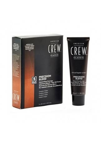 American Crew Краска для Седых Волос Precision Blend Ср. Пепельный 5/6, 3x40 мл цена