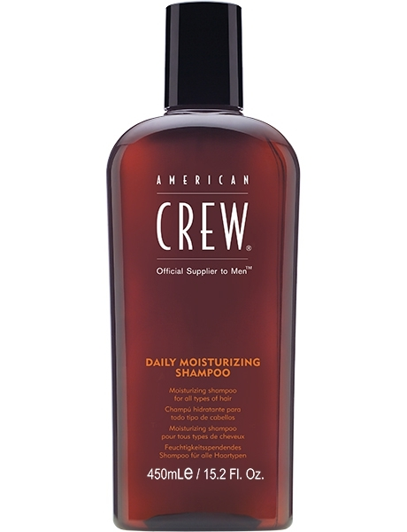 American Crew Шампунь для Ухода за Нормальными и Сухими волосами Daily Moisturizing Shampoo , 450 мл
