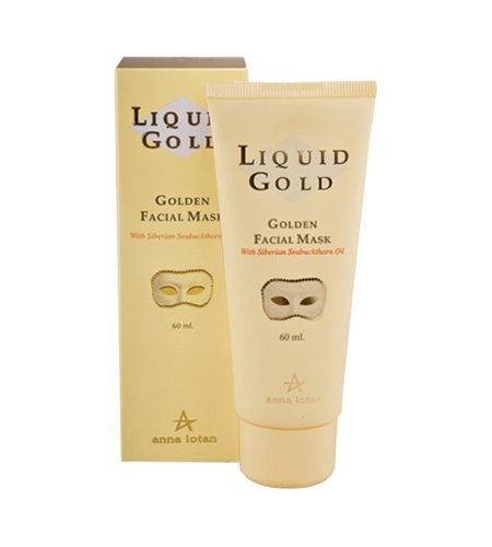 Anna Lotan Liquid Gold Golden Facial Mask «Золотая» маска, 60 мл anna lotan astringent mud mask стягивающая маска 250 мл