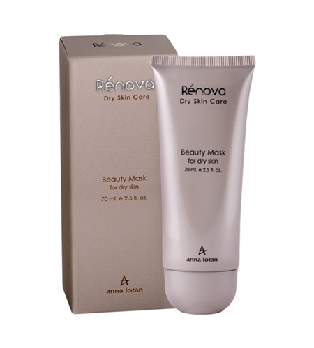 Anna Lotan Renova Beauty Mask Маска красоты для сухой кожи, 70 мл anna lotan astringent mud mask стягивающая маска 60 мл