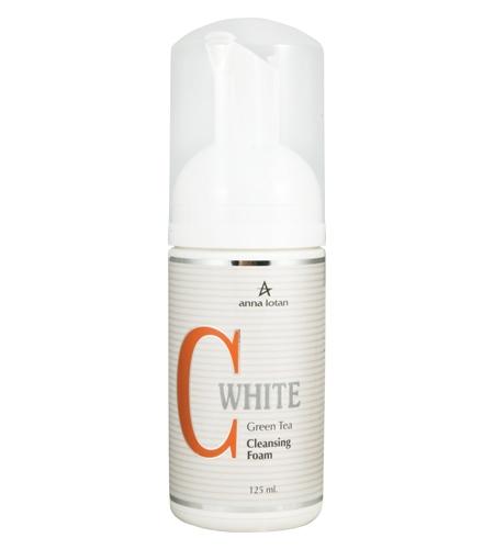 Anna Lotan C White Cleansing Foam Очищающая пенка (с экстрактом зеленого чая), 125 мл