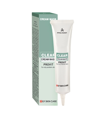 Anna Lotan Provit Cream Mask Провит крем-маска для жирной проблемной кожи, 40 мл anna lotan astringent mud mask стягивающая маска 60 мл