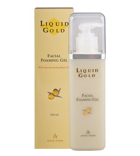 Anna Lotan Liquid Gold Facial Foaming Gel Золотой Очищающий гель, 200 мл гидрирующий гель anna lotan