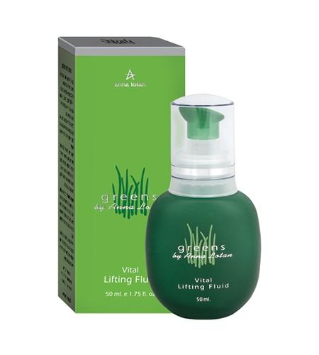 Anna Lotan Капли Greens Vital Lifting Fluid Гринс Витаминизированные Лифтинг, 50 мл