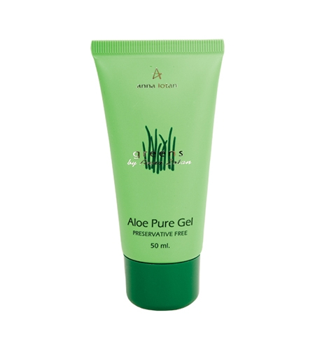 Anna Lotan Гель Greens Aloe Pure Natural Gel Гринс Алоэ-Вера, 50 мл