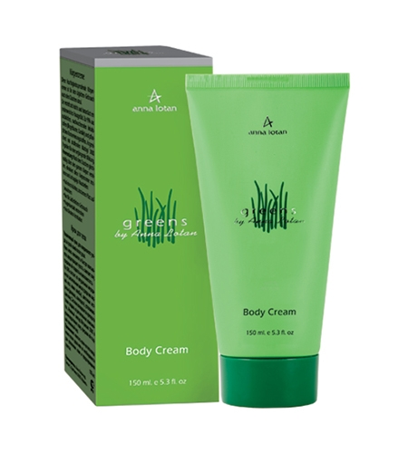 Anna Lotan Body Cream Greens Кpем для тела Гринс, 150 мл