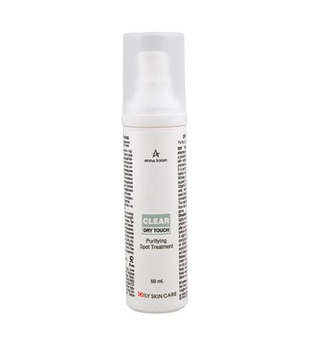 Anna Lotan Clear Dry Touch Purifying Spot Treatment Точечный уход Гель для жирной кожи, 50 мл гель точечный holy land a nox plus retinol spot treatment gel 20 мл для проблемной кижи с акне
