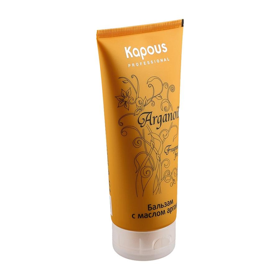 Kapous Arganoil Бальзам для Волос с Маслом Арганы, 200 мл kapous масло арганы для волос arganoil 75 мл