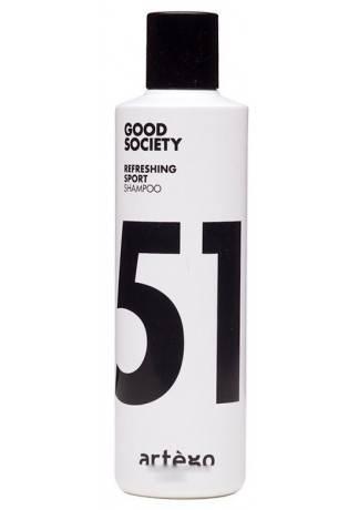 Artego Спорт Шампунь Refreshing Sport shampoo, 250 мл шампунь indola repair shampoo объем 300 мл