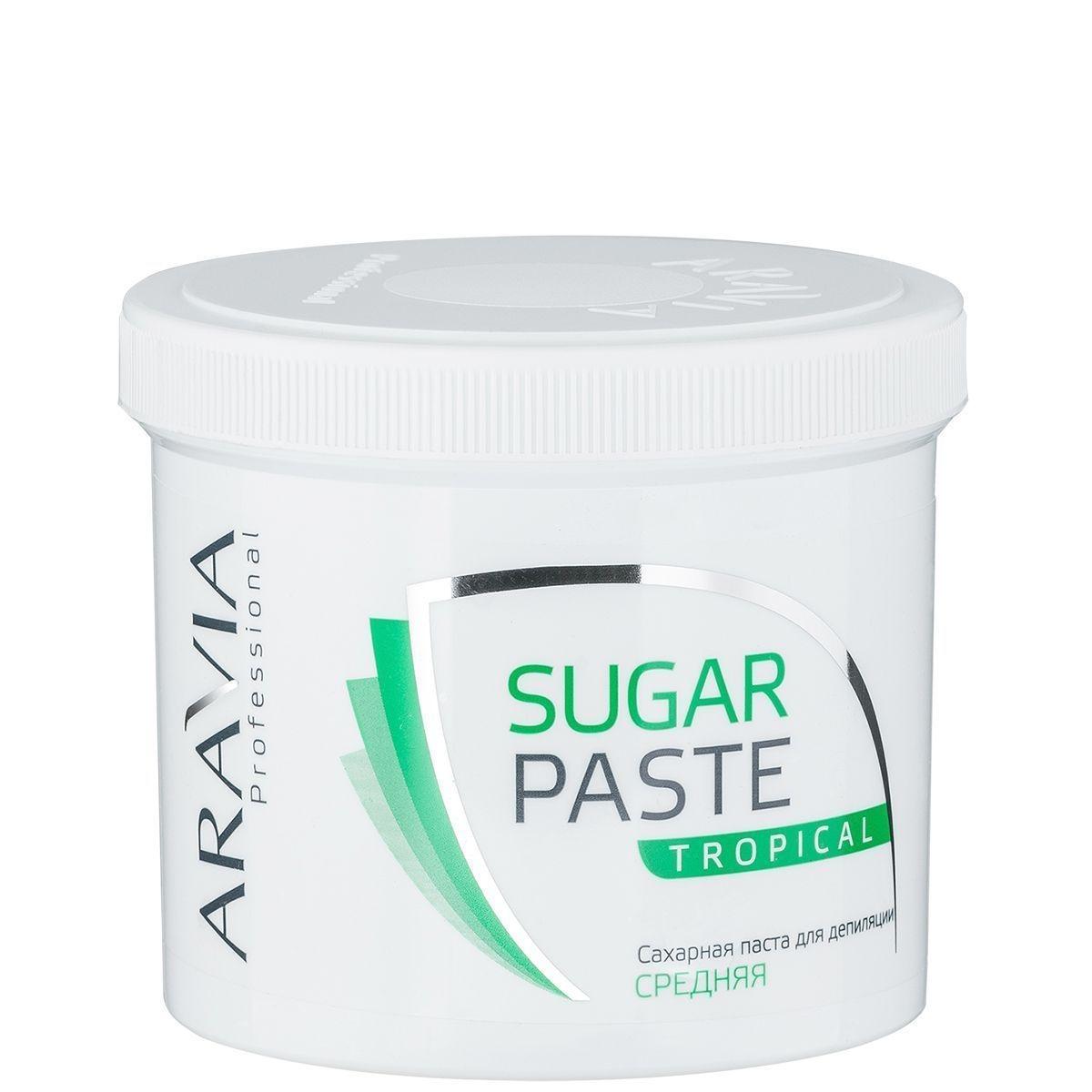 ARAVIA Паста  Sugar Paste Сахарная для Депиляции Тропическая Средней Консистенции, 750 гр