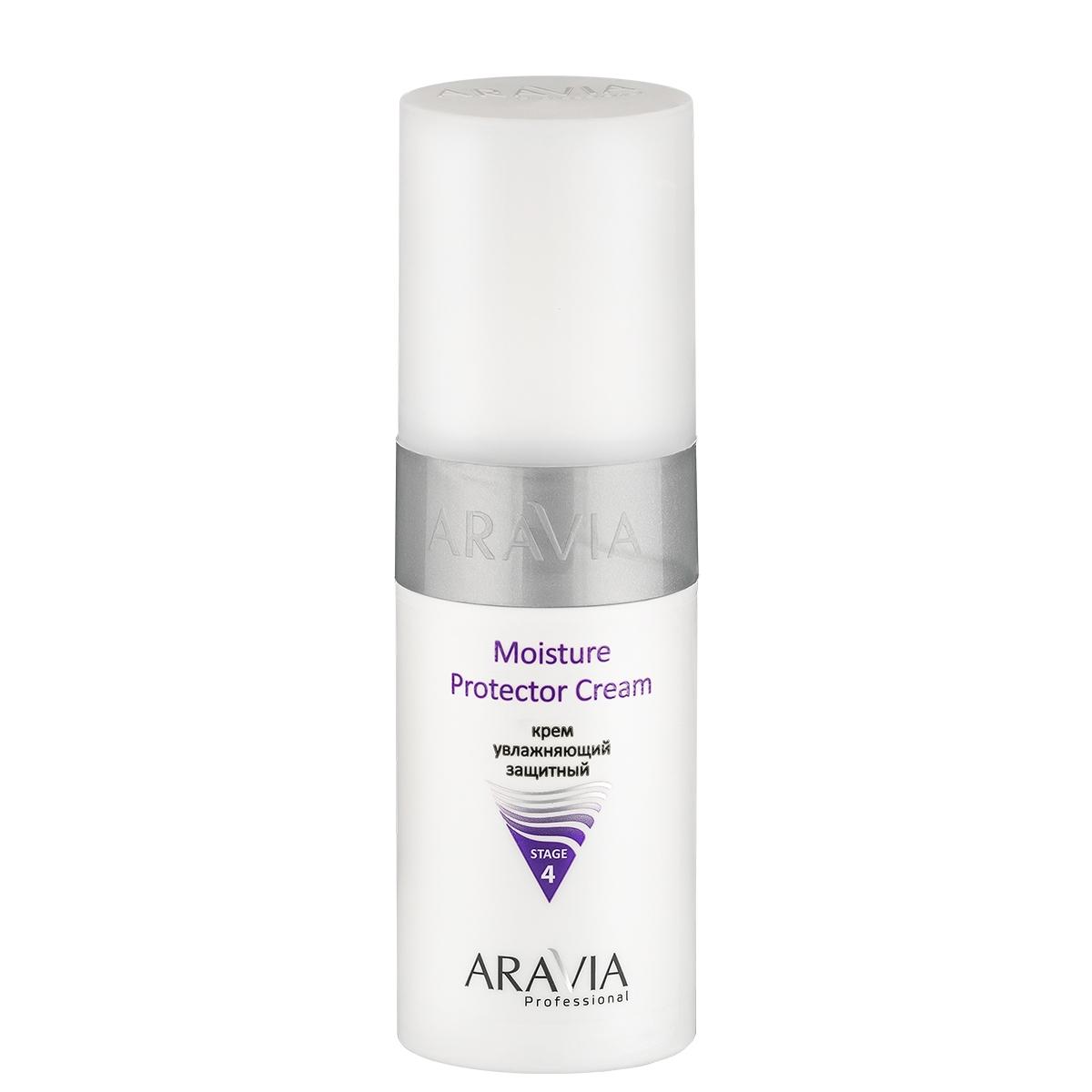 ARAVIA Крем Moisture Protecor Cream Увлажняющий Защитный, 150 мл крема для сухой кожи