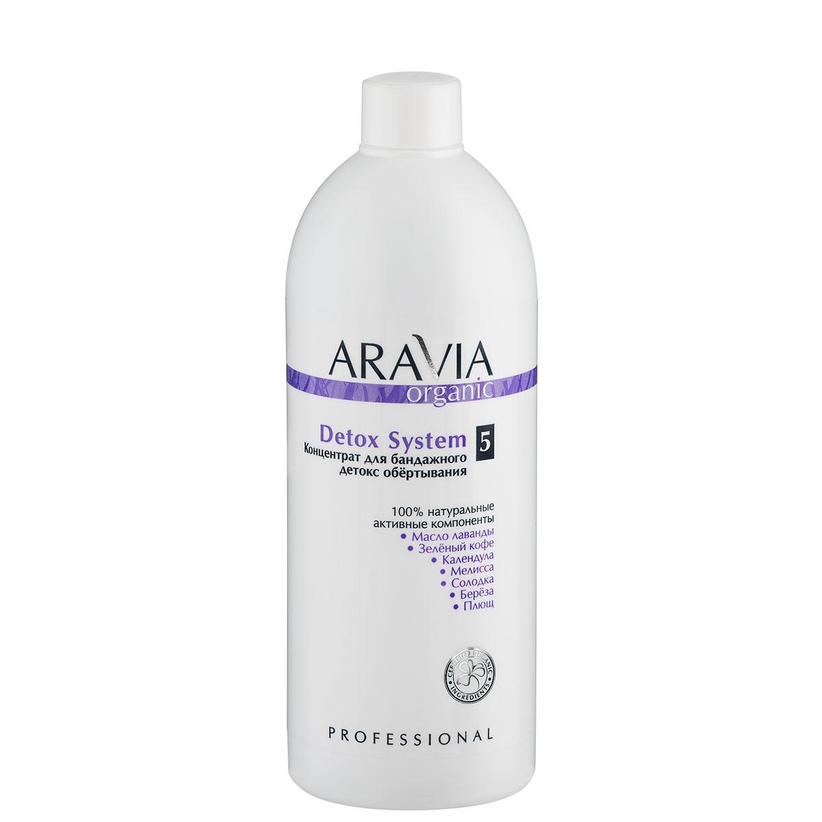 ARAVIA Концентрат для бандажного детокс обертывания Detox System, 500 мл