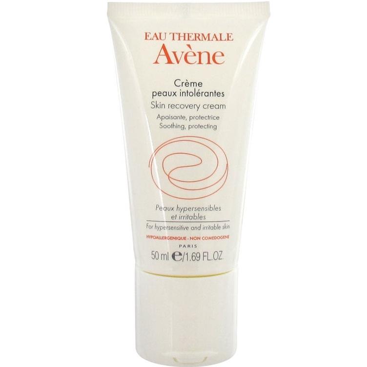 Фото - AVENE Крем Skin Recovery Cream Восстанавливающий Насыщенный, 50 мл avene крем hydrance uv20 spf 30 насыщенный риш 40 мл